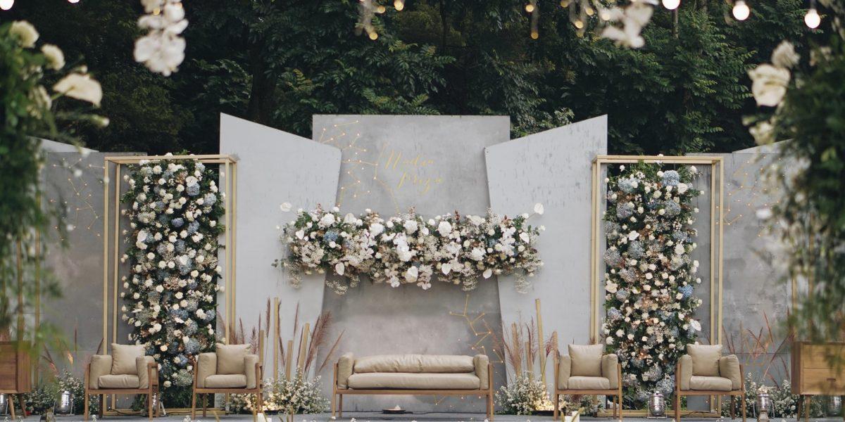 contoh dekorasi pernikahan sederhana